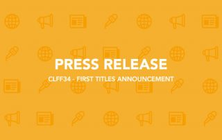 CLFF34 - FIRST TITLES ANNOUNCEMENT - PRESS RELEASE-CLFF